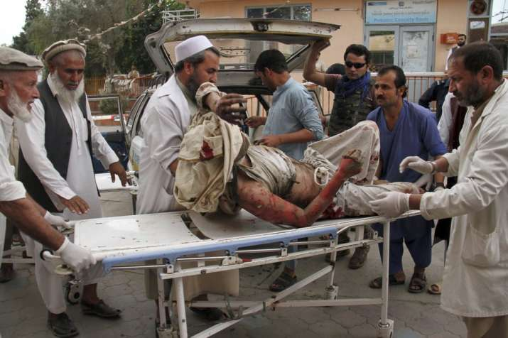 Afghanistan: 62 killed in two blasts inside mosque