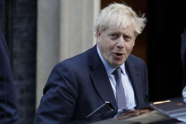 UK PM Boris Johnson