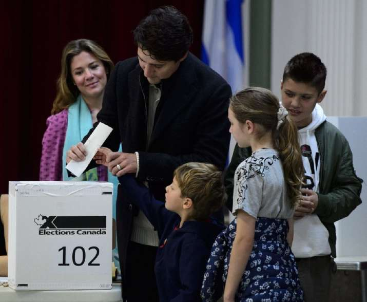 Trudeau fights to stay in power as Canada votes