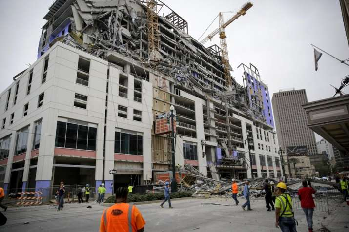 Hard Rock hotel under construction in New Orleans