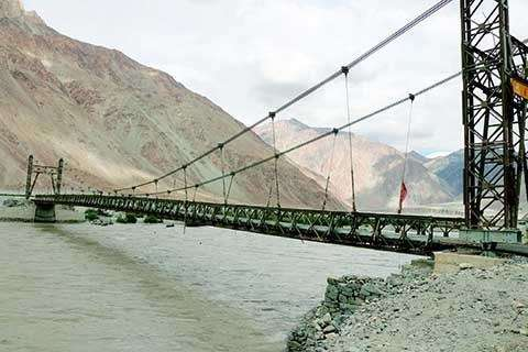 Bridge across Shyok River to be named after Ladakh's brave soldier