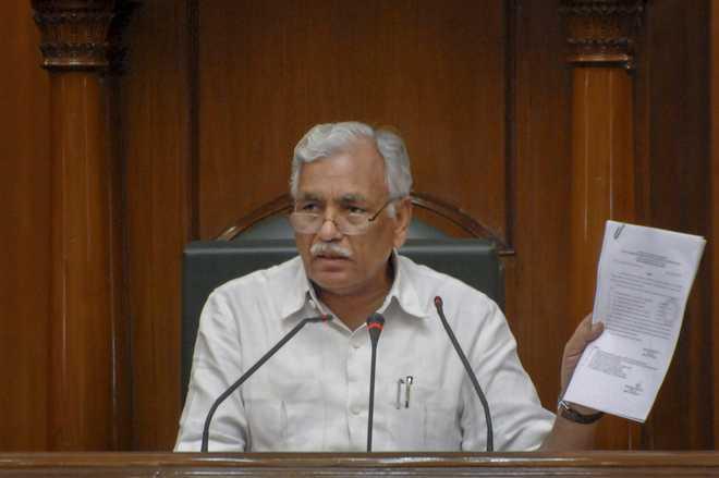 Court awards 6-month jail term to Delhi Assembly Speaker Ram Niwas Goel for house trespass