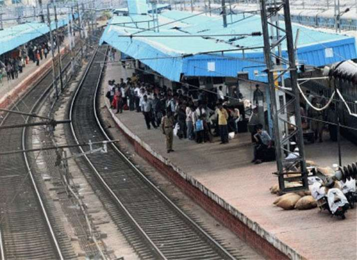 Engine of Nandigram Express catches fire