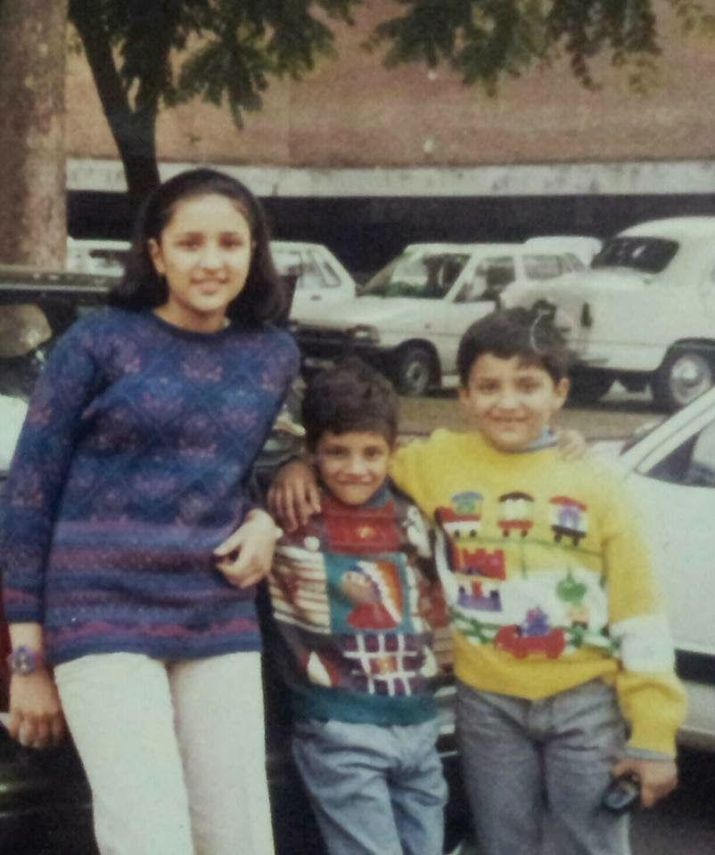 India Tv - Happy Birthday Parineeti Chopra: Adorable childhood pictures of the actress you've never seen before