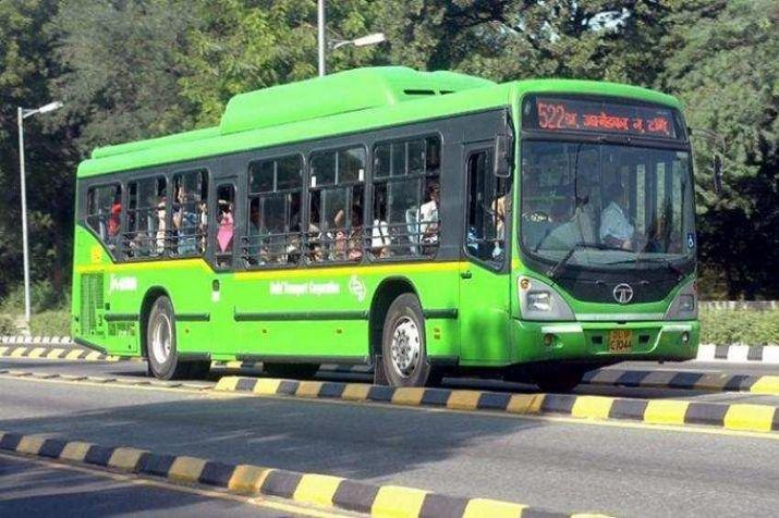 Speeding DTC bus crashes into two-wheelers, four injured