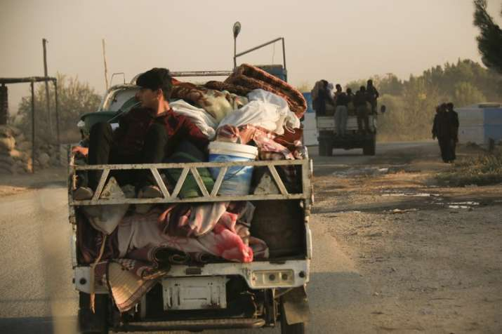 Turkish offensive sparks yet another Syrian exodus