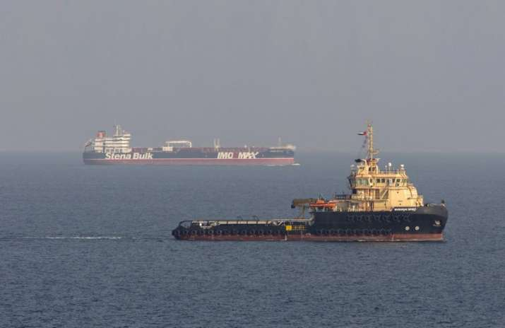 Iran says oil tanker struck by rockets off Saudi port city