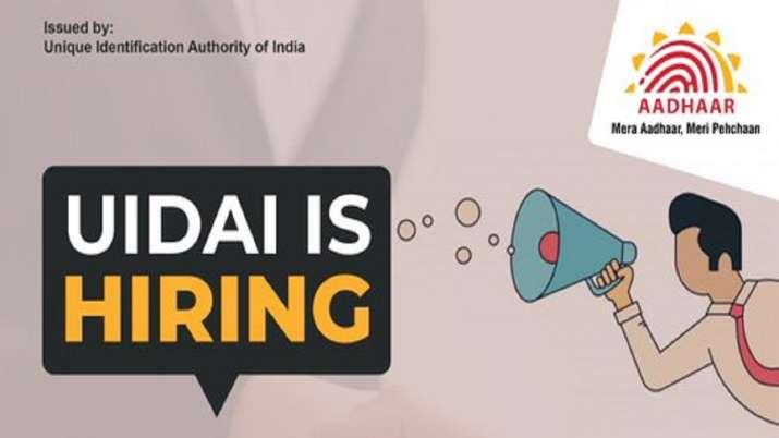 Aadhaar Recruitment 2019: Job Alert! UIDAI announced vacancies for this post; check details