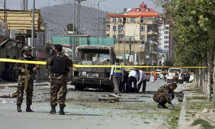Car bomb explosion rocks Afghanistan