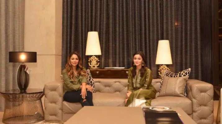 India Tv - Gauri Khan designedAlia Bhatt's house