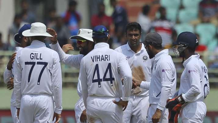 1st Test, Day 3: Ashwin's fifer puts India on top after Elgar-de Kock tons