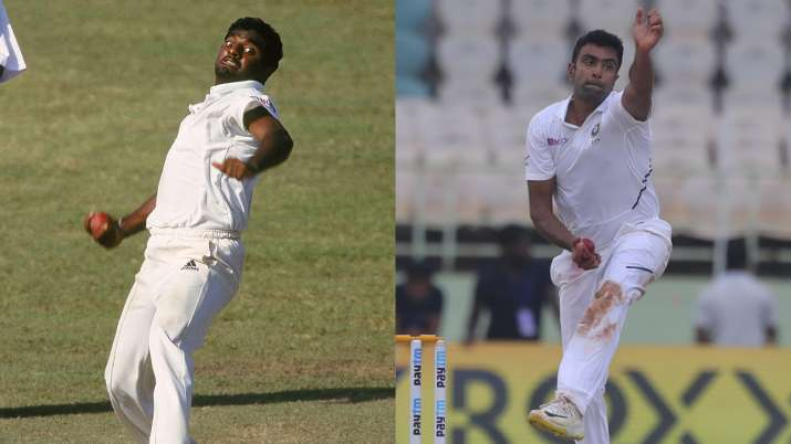 Race to 350 Test wickets: R Ashwin vs Muttiah Muralitharan in 66 Tests  India vs South Africa 2019 | Cricket News – India TV