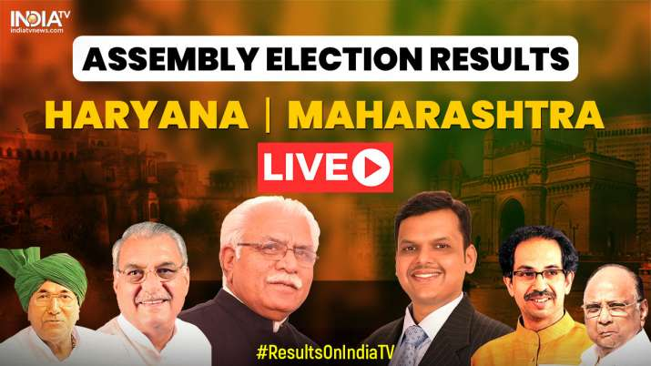 Live Streaming Election Results 2019 when where and how to watch coverage of Maharashtra, Haryana re