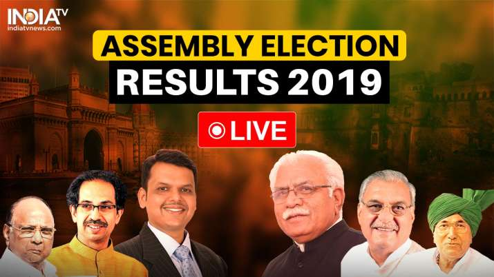 Election Results Live Updates: Maharashtra, Haryana Assembly Election Results 2019: The counting of