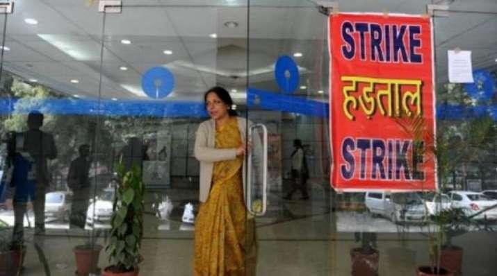 Bank strike today