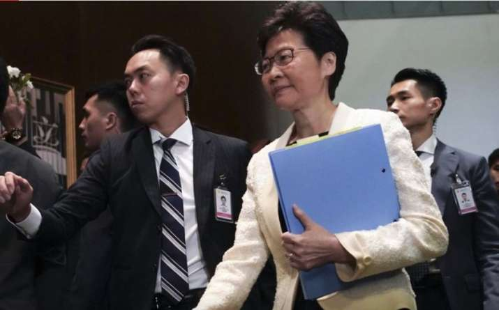 Hong Kong legislature officially withdraws controversial extradition bill after months of protests