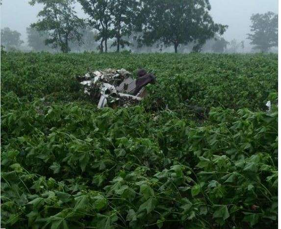 Pilot killed after trainer aircraft crashes in Telangana