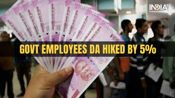 SAC approves 5 per cent DA hike for govt employees, pensioners