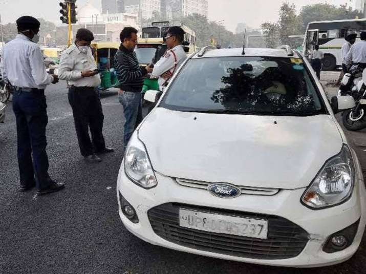 Delhi traffic police to withdraw 1.5 lakh e-challans