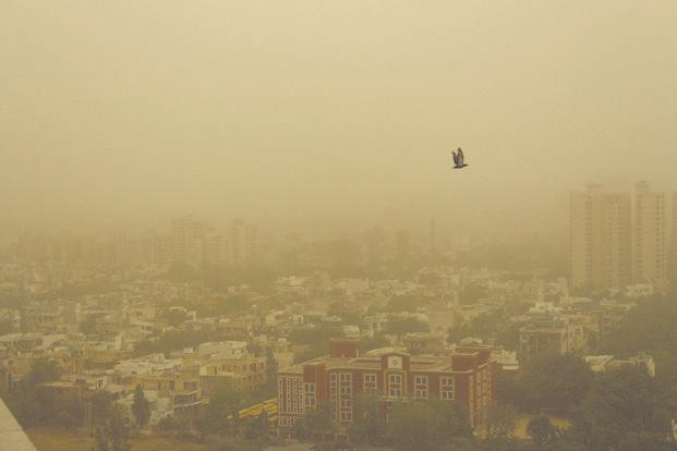 India Tv - Delhi pollution