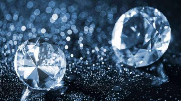 Diamond within diamond