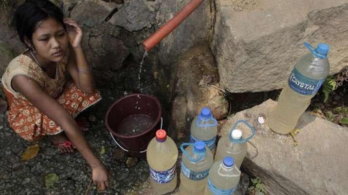 Dirty water Noida