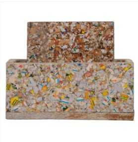 India Tv - Coasters and trays made of recycled paper-based cartons