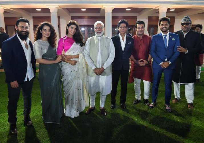 India Tv - Bollywood celebs meet PM Modi