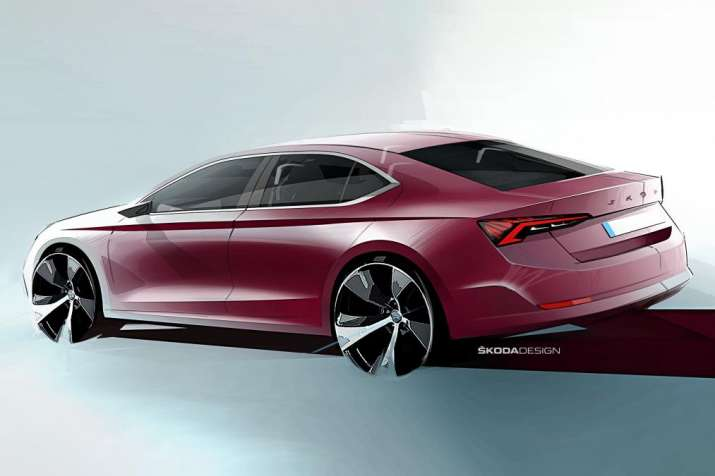 India Tv - Skoda Octavia 2020: Design teased in sketches   Here is what's new