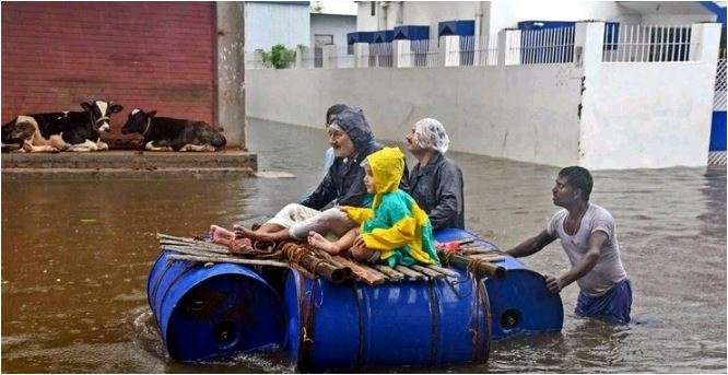 Floods in north India killed over 1,900 people this year,