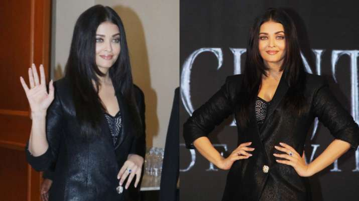 Aishwarya Rai Channels Inner Maleficient At The Trailer