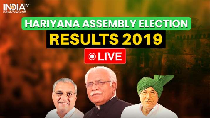 Haryana Assembly Election Results 2019 LIVE: Counting begins across state