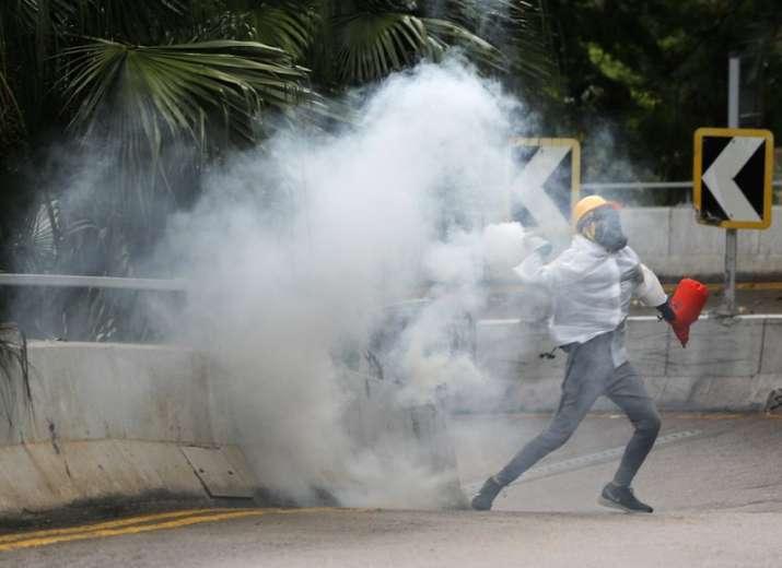 Thousands protest as bid to block Hong Kong mask ban fails