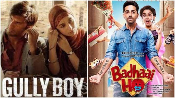 Gully Boy, Badhaai Ho to be screened at 50th International Film Festival of India