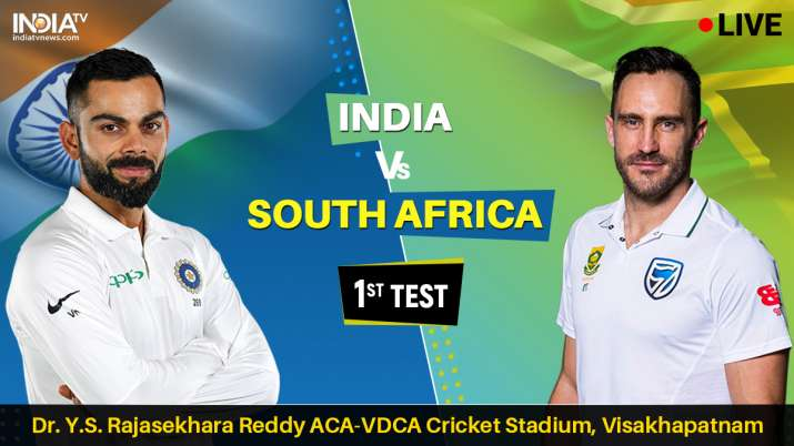 Live Cricket Match Streaming India vs South Africa 1st test on hotstar