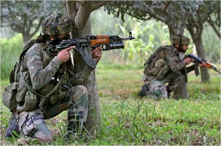 Pulwama Jammu Kashmir Awantipora encounter