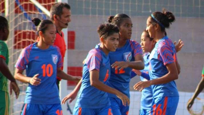 india women's football team