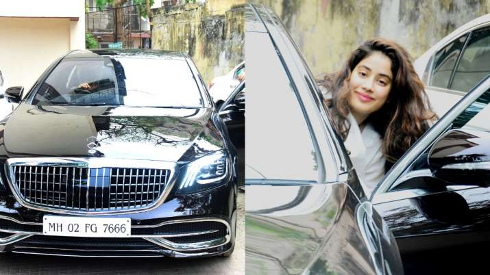 Janhvi Kapoor's new luxurious Mercedes-Maybach has a Sridevi connection