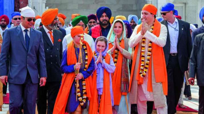 India Tv - Canadian Premier Justin Trudeau visited the Golden Temple in Amritsar