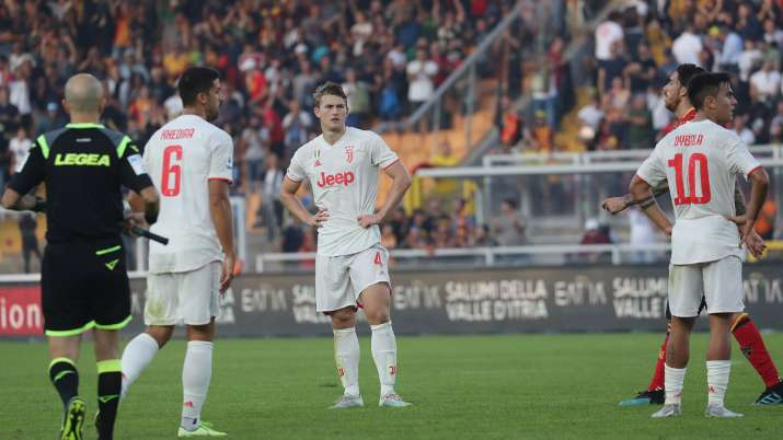 Serie A: In Cristiano Ronaldo's absence Juventus held to 1-1 draw against Lecce
