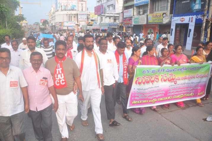 TSRTC row: Khammam Bandh observed as strike enters 10th day