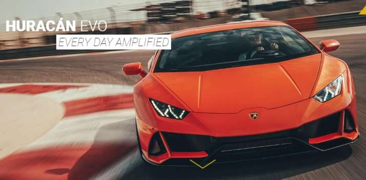 Lamborghini supercar  Huracán EVO Spyder has been launched in India.