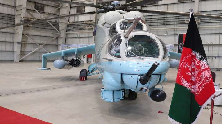 India hands over second pair of Mi-24V helicopters to Afghan forces