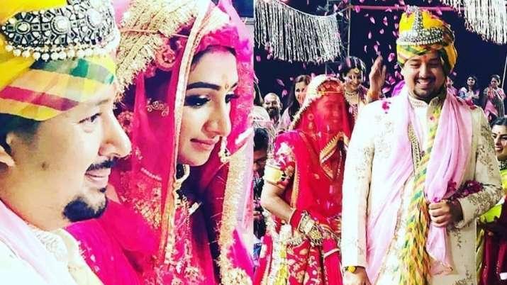 Yeh Rishta Kya Kehlata Hai Actress Mohena Kumari Singh Marries Suyesh Rawat Inside Photos Videos, Mo
