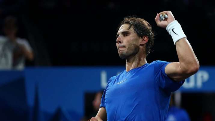Before the Davis Cup Finals, Nadal will take part in the