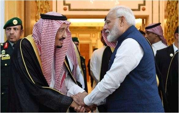 PM Modi with King of Saudi Arabia