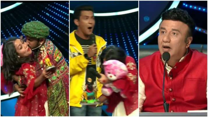 Indian Idol 11: Neha Kakkar gets uncomfortable as contestant kisses, hugs her forcibly. Watch video