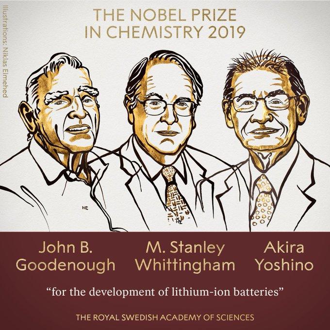 Breaking: Nobel Prize in Chemistry awarded to John
