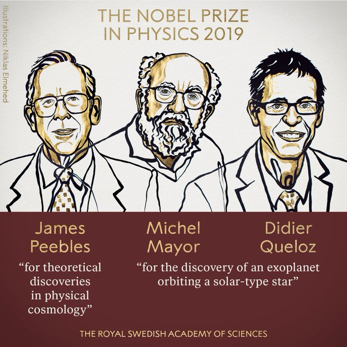 <b> Three scientists share Nobel Prize in Physics</b>