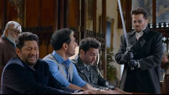 Anil Kapoor, John Abraham's comedy- drama Pagalpanti's trailer out